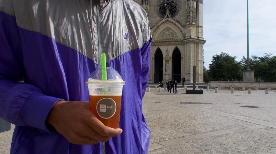 Cha+ Tea bar orleans France Boba Tea