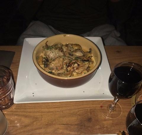 orleans france food, les pissenlits restaurant review
