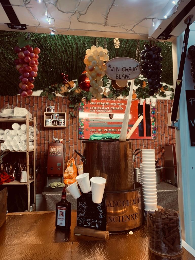 Hot wine- Orleans Christmas market
