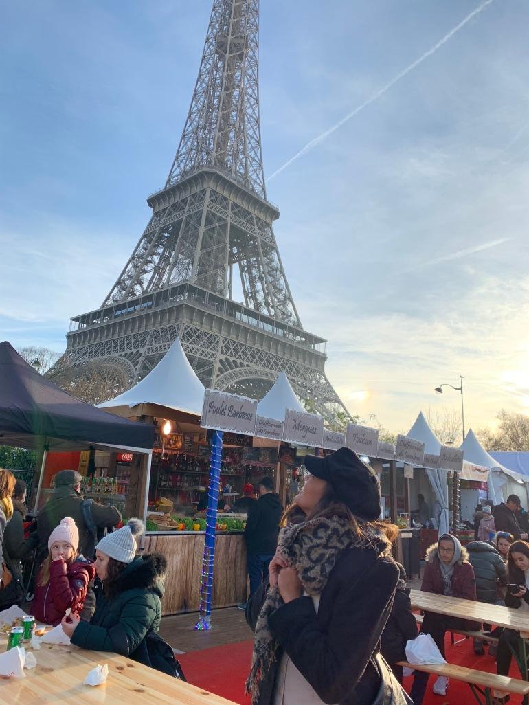 Paris Christmas market- Eiffel Tower Christmas market